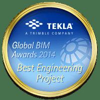 Tekla Global BIM Awards 2014 Best Engineering Project