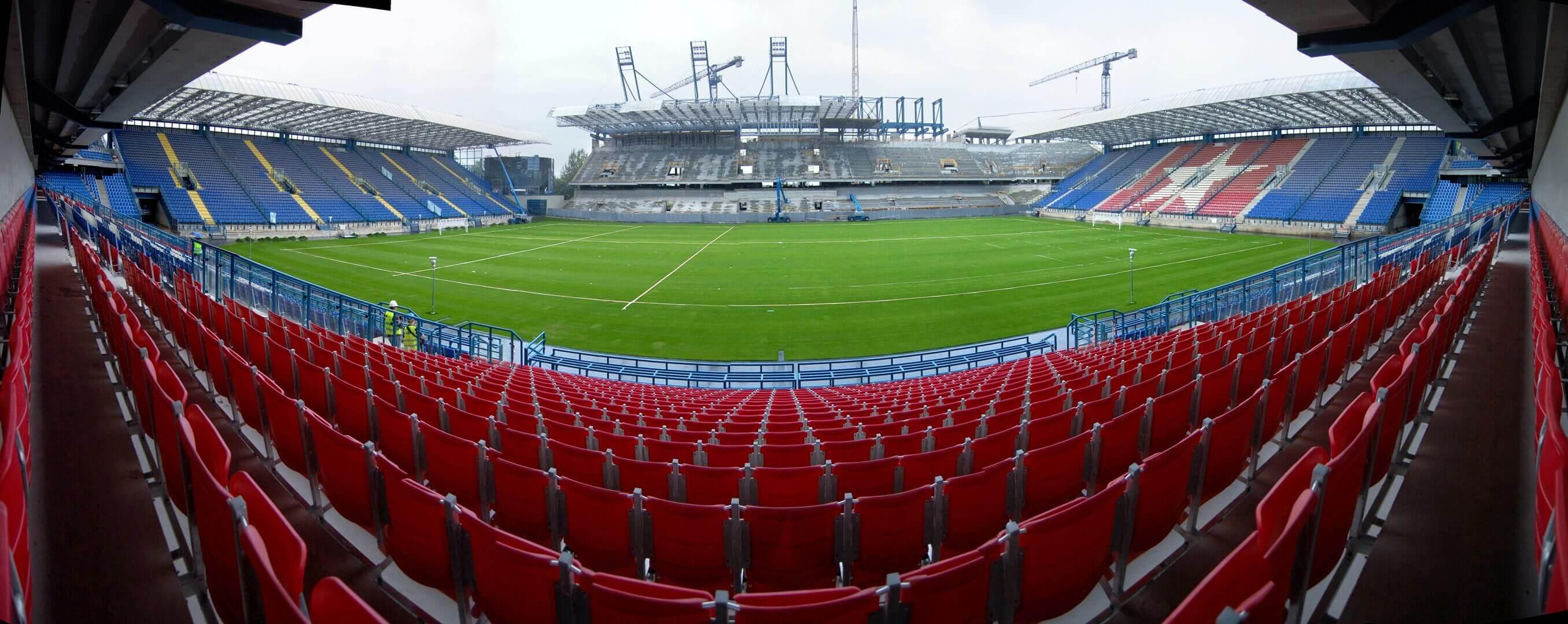 Stadion Wisła Kraków Trybuna