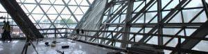 budowa konstrukcja szklana
