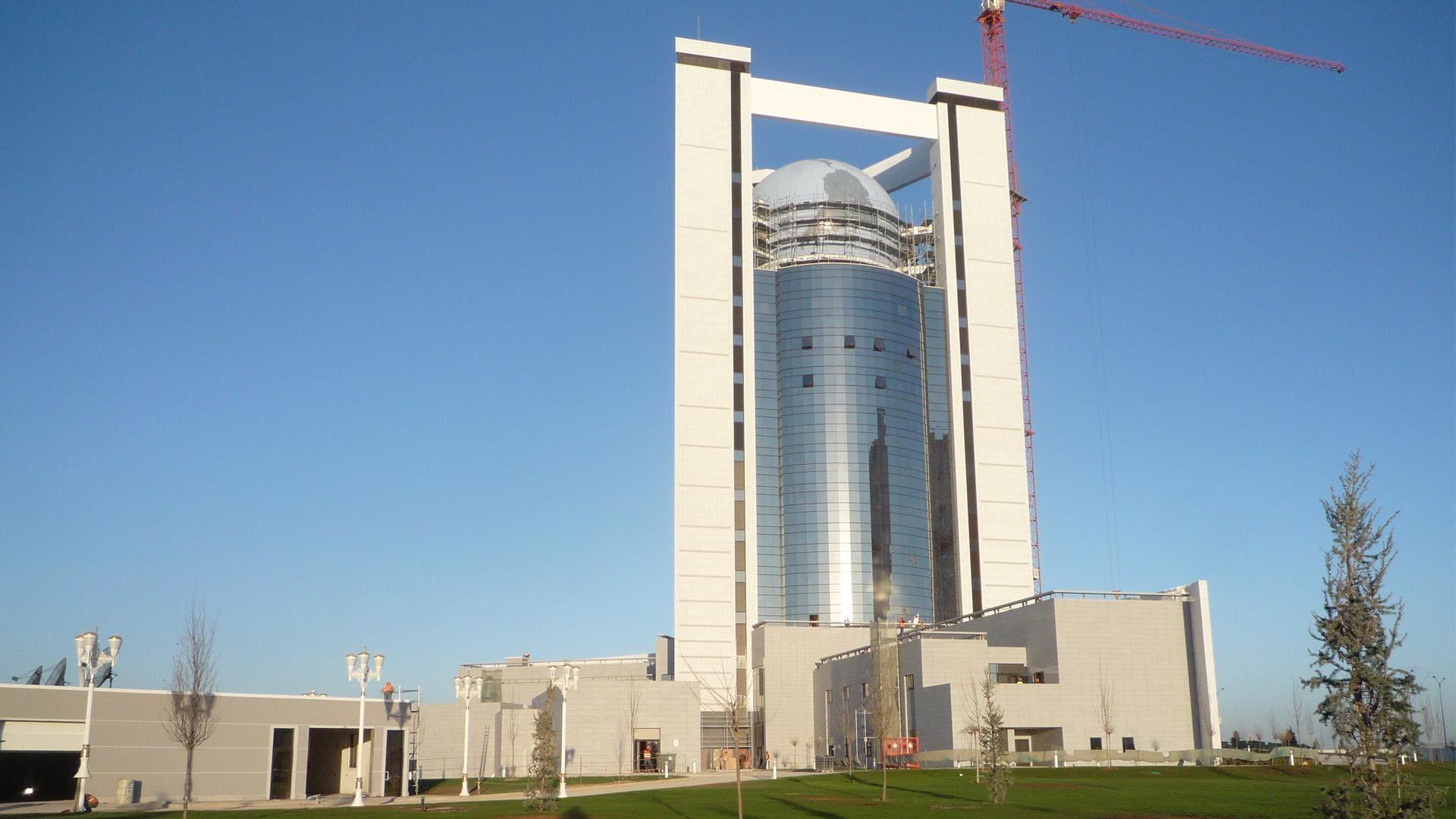 MSZ Turkmen budynek