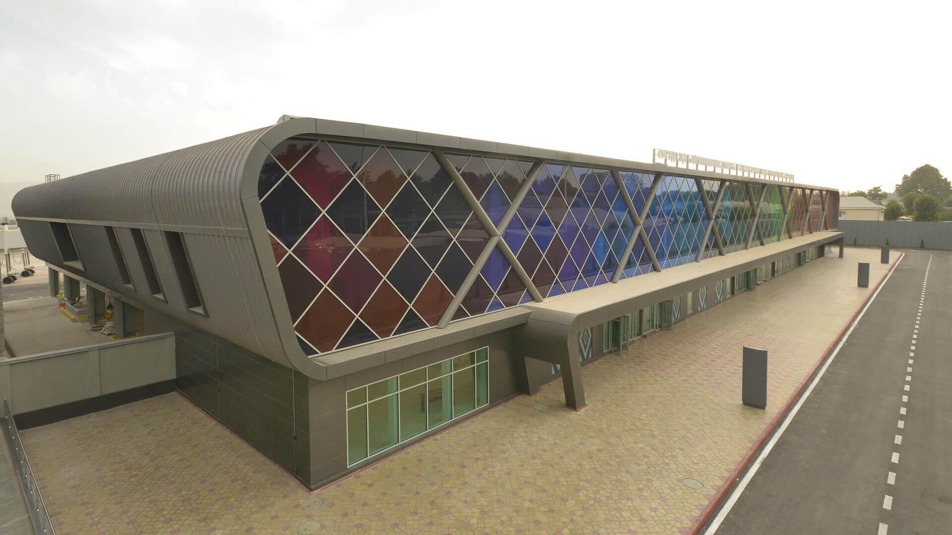 Terminal Lotniczy budynek