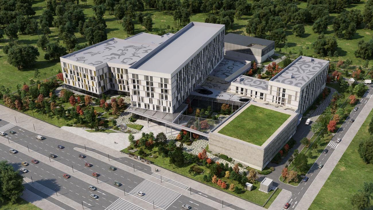 NROC wizualizacja budynku